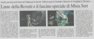 Dal Quotidiano di Puglia 26.02.2017