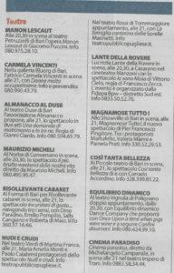 Repubblica Bari 10 marzo 2017